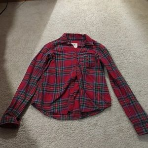 Long sleeve Hollister flannel